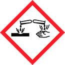 GHS05 Korozivní a žíravé látky
